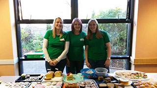 The fundraising team